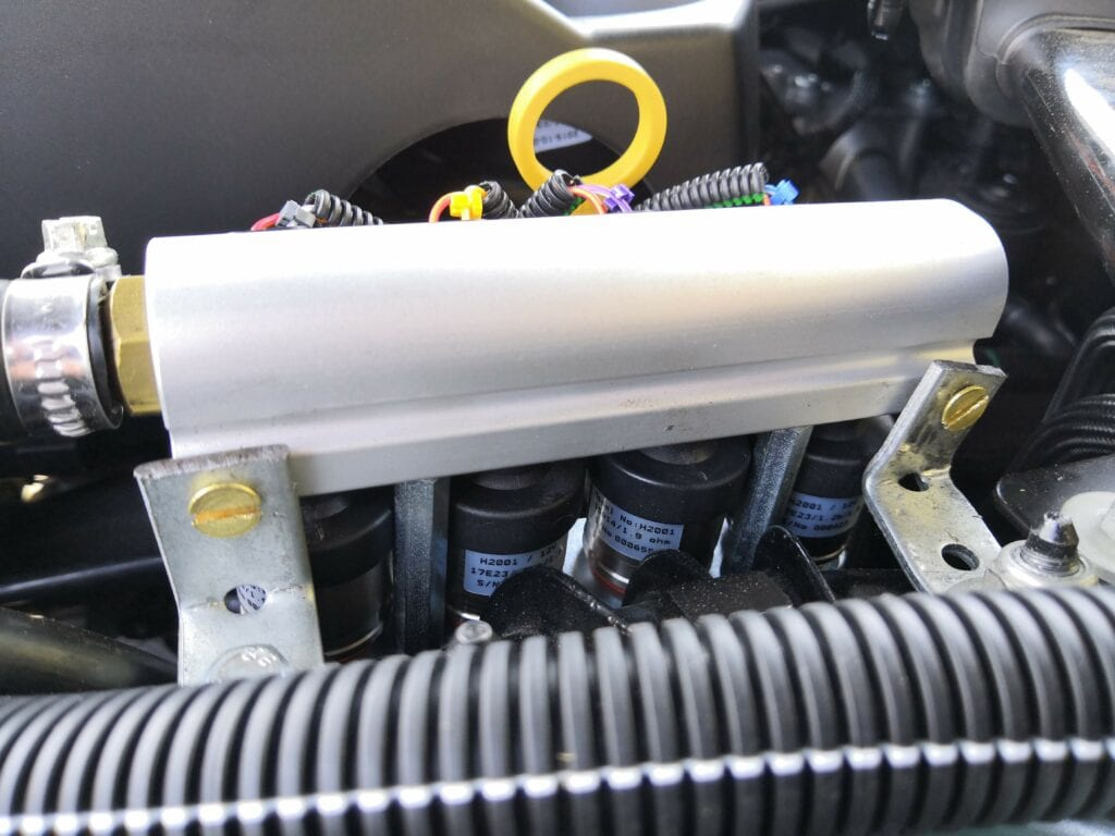 natural gas injectors on Land Rover Discovery